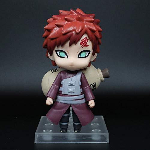 KPSHY Naruto Anime Q Version I Gaara Figur Puppen Dekoration Premium Version Statue Puppe Skulptur Spielzeug Dekoration Modell Puppe Höhe 11cm