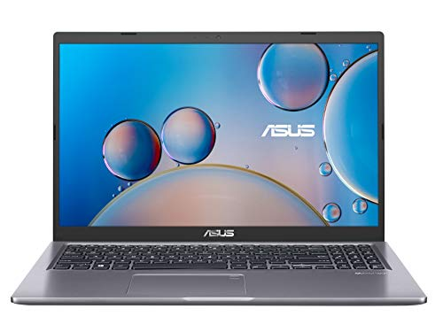 ASUS VivoBook 15 F515 Thin and Light Laptop 15,6 Zoll FHD Display, Intel Core i3-1005G1 Prozessor, 4GB DDR4 RAM, 128GB PCIe SSD, Fingerabdruckleser, Windows 10 Home im S-Modus, Slate Grey, F515JA-AH31