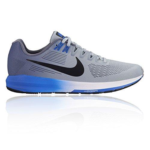 Nike Air Zoom Structure 21, Zapatillas de Cross Hombre, Multicolor (Wolf Grey/Black-Ligh 003), 47 EU