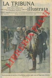Presentazione del marchese di S. Giuliano all' Imperatore d'Austria.