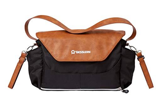 Gesslein 6361607000 Wickeltaschen mit Schnallen cognac
