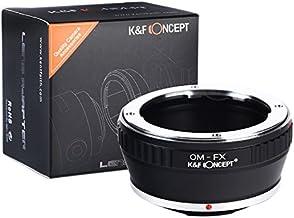 [正規代理店]K&F オリンパスOM-フジX FX マウントアダプター レンズクロス付 om-fx (KFFX)