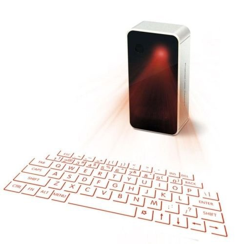 MOJO Bluetooth Wireless Laser Projection Virtual Keyboard Portable Full-Size Keypad