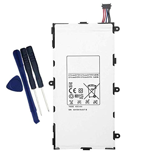 Uniamy Internal Replacement Battery + Free tools For Samsung Galaxy Tab 3 7' 7.0 inch SM-T210R CE0168 T4000E AAaD429oS/7-B SM-T210 T2105 T210R T210R-SM SM-T211