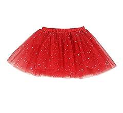 BUENOS NINOS - Falda - Skort - Lunares - para niña Rojo Hot Pink ...