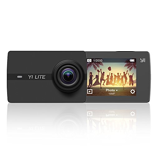 Yi Action Camera sport Lite 4 K Ultra 16 MP WiFi Bluetooth 5,1 cm LCD Touchscreen per videocamera Sony sensore