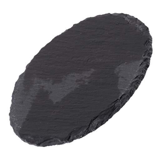 PETSOLA Schildkröte Klettern Rock Habitat Board Reptil Futternapf Schüssel Platte Ornament - Rund