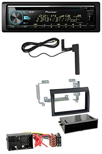 caraudio24 Pioneer DEH-X7800DAB CD MP3 AUX DAB USB Autoradio für Citroen Jumper ab 2014 FIAT Ducato ab 14 schwarz Profi