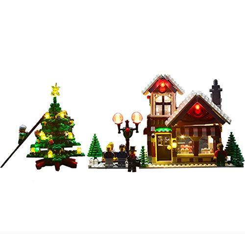 QZPM Kit De Iluminación LED para (Tienda De Juguetes Winter Village) Compatible con Ladrillos De Construcción Lego Creator Modelo 10249,(Juego De Legos No Incluido)