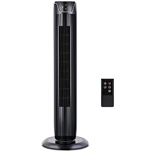 PELONIS Fan, Tower Fan Oscillating with LED Display, ...