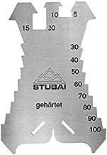 Stubai Anreißschablone 1,3 mm, gehärtet 140 x 100 mm, 278601
