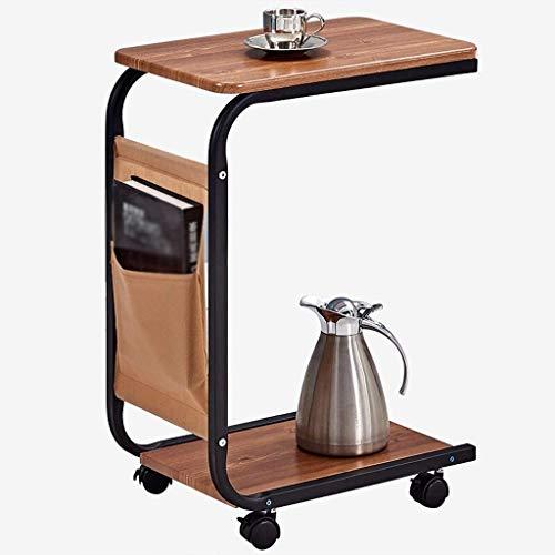Couchtisch Couchtisch Stilvoll und Kreativ Mobiler Couchtisch Wohnzimmer Sofatisch mit Runden Klein Quadratisch Tisch Beistelltisch