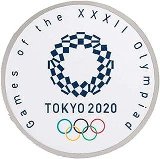 東京オリンピック 2020 エンブレム 組市松紋 エンブレム ラウンド ピンバッジ