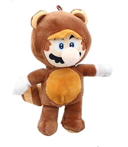 Nintendo Super Mario Bros. 12 Inch Collectible Plush - Tanooki Mario