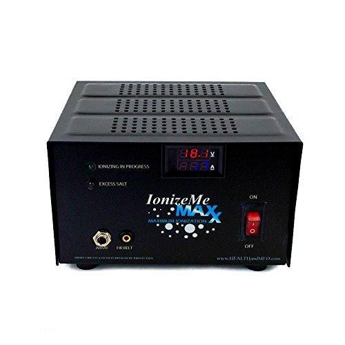 HEALTHandMED IonizeMe Maxx Ionic Detox Foot Bath Machine 17.0V / 2.2 Amp (Basic)