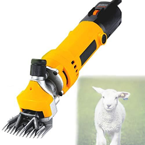 BrightFootBook 1000W Tosapecore Elettrico Professionale, 6-Speed Regolabile Tosatrice, per La Rasatura della Lana da Pelliccia in Pecore, Capre, Bovini, Animali da Allevamento