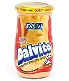 DALVITO Cheddar Venezuela. Queso Cheddar fundido para untar. Frasco 300 g