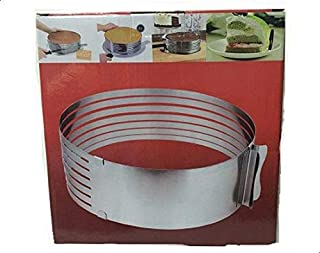 Cake Mould Slicing Bakeware Stainless Steel Cake Decor Supply Ring