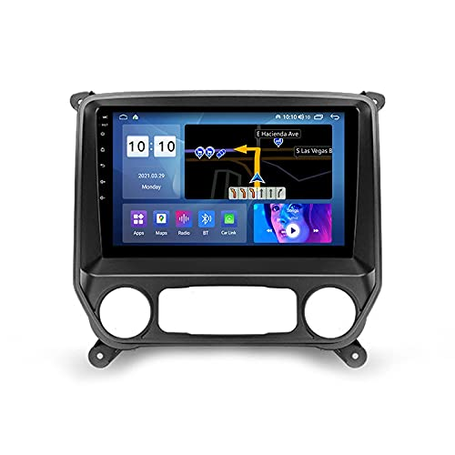 Android 10.0 Car Stereo Double DIN Radio para Chevrolet Silverado 3 2013-2019 Navegación GPS Reproductor Multimedia de 10 '' Receptor de Video Bluetooth con 4G / 5G WiFi SWC DSP USB Carplay