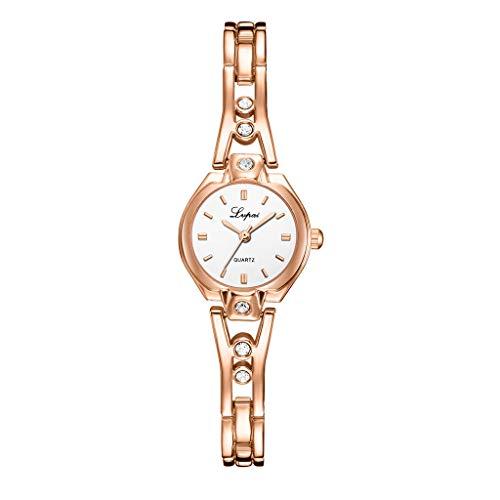 Super Einfache Damenuhr Eisen Uhrenarmband Edelstahllegierung Armband Handschmuck Zifferblatt Legierung Diamant Armband Damen Quarzuhr Damenuhr Symphony Women Ladies Watches