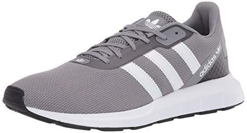 adidas Originals Swift Run Rf Zapatos de tacón para hombre, gris (Gris/Blanco Ftwr / Core Negro), 40.5 EU