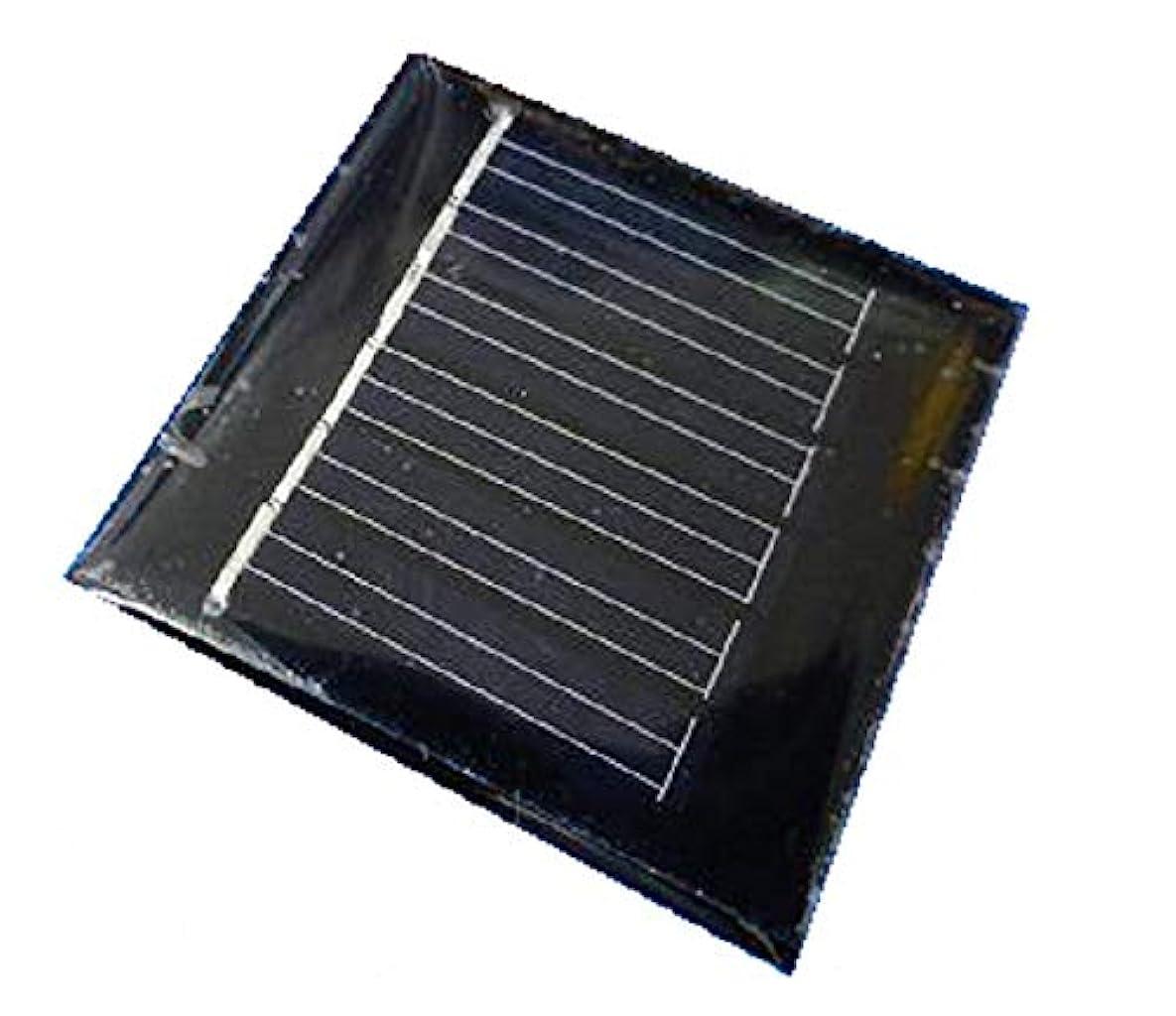 サージお誕生日シェーバー工作用太陽電池 約42x42mm 3v40mA 1枚入<psp-300>