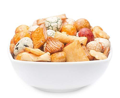 1 x 8kg Cracker Nussmischung mit Erdnuss und Reis vegetarisch vegan laktosefrei fettarm Snack