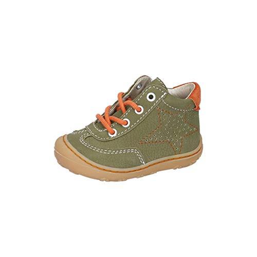 RICOSTA Kinder Lauflern Schuhe SAMI von Pepino, Weite: Mittel (WMS), Kinderschuhe toben Spielen detailreich Freizeit,Oliv,22 EU / 5.5 Child UK