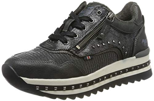 MUSTANG Damen 1347-301-259 Sneaker, Grau (Graphit 259), 40 EU