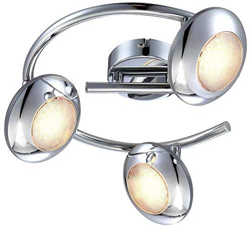 YUNTAO Lámparas decorativas Elegante proyector del techo del LED 3-luces estilo moderno de la lámpara de techo giratorio Diseñador ajustable lámparas de 15W blanco cálido luces de la habitación Baño d