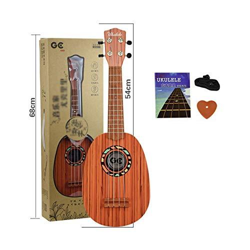 SXJC Ukulele Starter Kit Ukulele Für Anfänger Konzertgitarre Für Kinder Erwachsene Mit Gurt Bedienungsanleitung Und Plektren,D