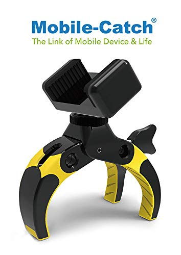 Mobile-Catch - Koning der Koningen - Mobiele Telefoon - DSLR - Action Cam Clamp/Statief, King-of-kings Yellow