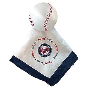 Baby Fanatic Security Baseball Blanket, Minnesota Twins