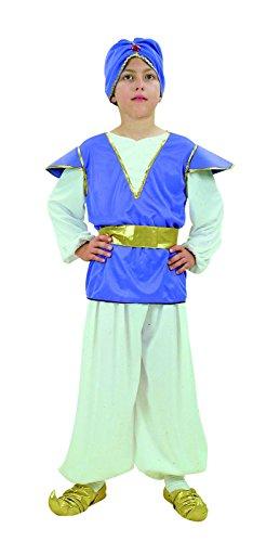 Rire Et Confetti - Fibdes018 - Déguisement Pour Enfant - Costume Aladin - Garçon - Taille M - Coloris aléatoire