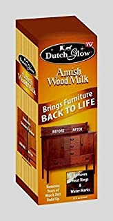 12oz Dutch Glow AMISH WOOD MILK Brings Back Restores Cleans Furniture TV DFG