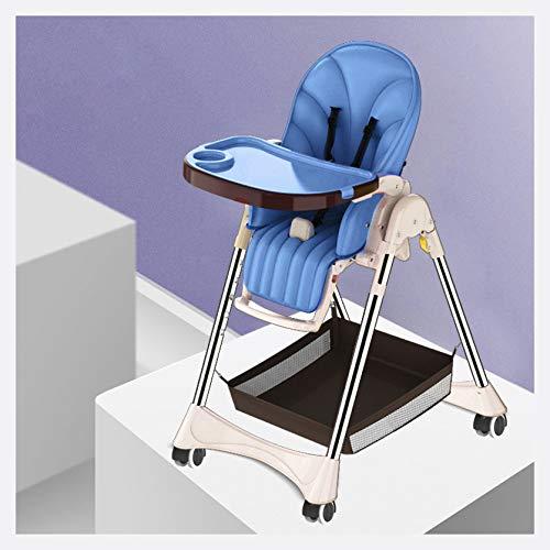MMYYIP hoge stoel kan worden aangepast en gevouwen -7 verschillende hoogten, 5-punts gordel, de tafel is beweegbaar lade 3 in 1 kind Booster zetel, baby hoge stoel en Booster stoel