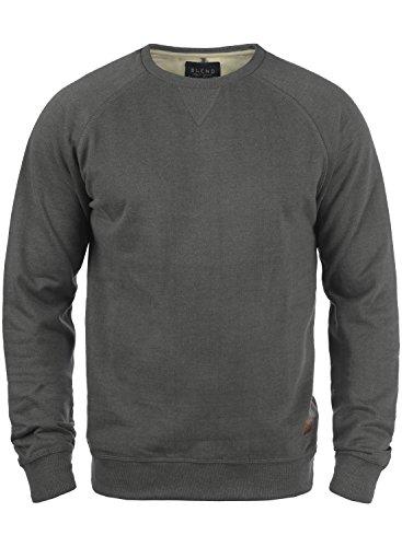 BLEND Alex 20701680ME Sweatshirt, Größe:XXL;Farbe:Pewter Mix (70817)