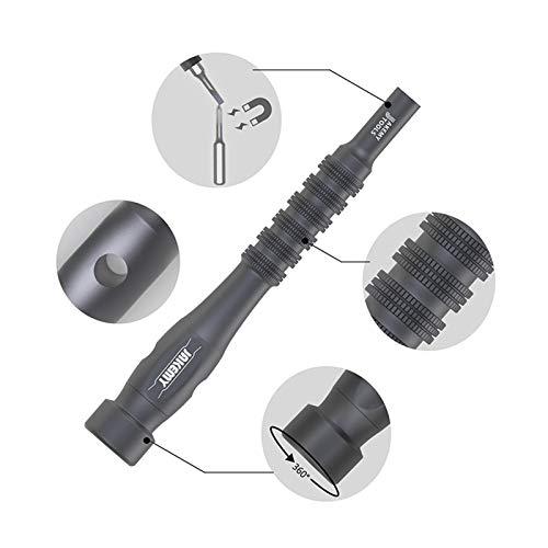 Screwdrivers Tools 45 in 1 Precision Screwdriver Set Torx Phillips Screw Driver Bit Magnetic Tool for Mobile Phone Laptop Repair Kit Hand Tools (Color : Black)