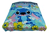 New Horizons Production Lilo and Stitch Cartoon Character Fleece Throw Blanket