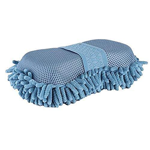 Lincoln en microfibre éponge de toilettage Bleu Bleu