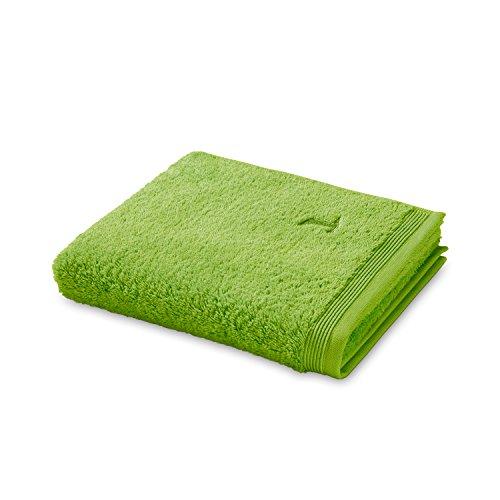 möve Superwuschel Duschtuch 80 x 150 cm aus 100% Baumwolle, peridot