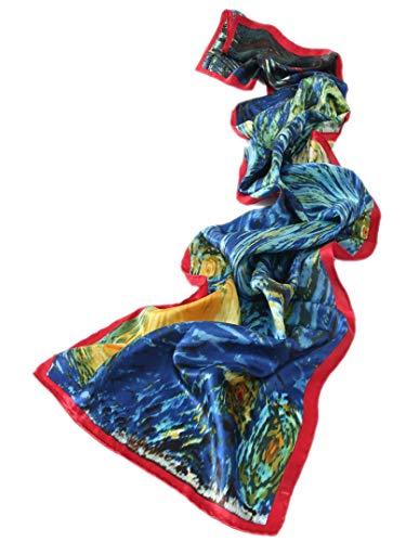 Prettystern Gustav Klimt Art Nouveau schilderij zijden sjaal