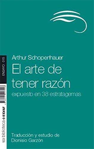 El Arte De Tener Razon (Nueva Biblioteca Edaf)