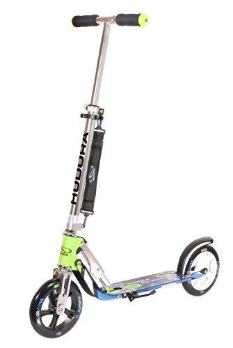 Hudora 14750 Big Wheel Scooter 205 (Green/Blue) by Hudora