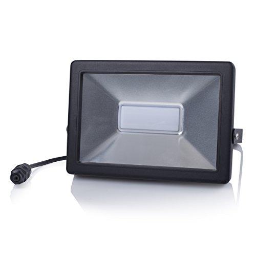 Projecteur LED Smartwares FL1-B50B – Extra plat – 50 W – 3 250 lumens – Plug & Play