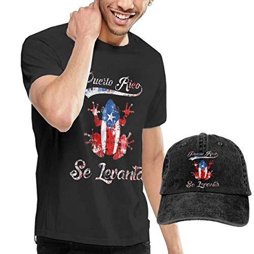 Baby Girls Little Boys Puerto Rico Flag Fingerprint ComfortSoft Long Sleeve T-Shirt