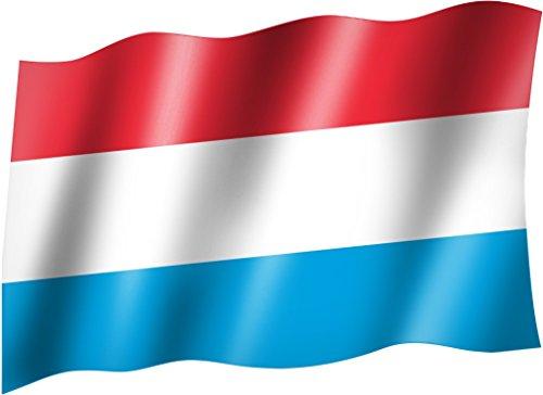 Flagge/Fahne LUXEMBURG Staatsflagge/Landesflagge/Hissflagge mit Ösen 150x90 cm, sehr gute Qualität