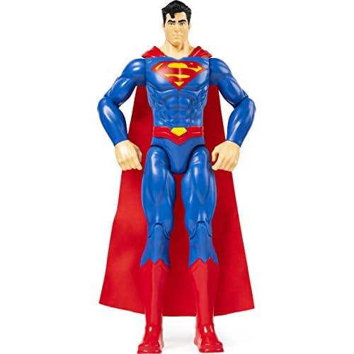 DC Comics, SUPERMAN, Personaggio da 30 cm Articolato, dai 3 Anni, 6056778