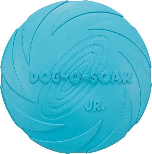 M.Versand 2X Trixie Dog Disc Naturgummi-Frisbee, schwimmend - 18 cm, Diverse Farben