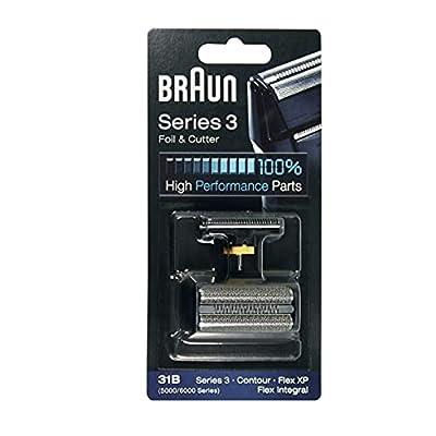 Braun GmbH Braun Razor Replacement Foil & Cutter 5610 5612 5877 5775 5770 31B Shaving Heads, 1